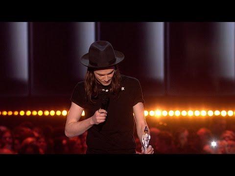 James Bay wins British Male Solo Artist | The BRIT Awards 2016
