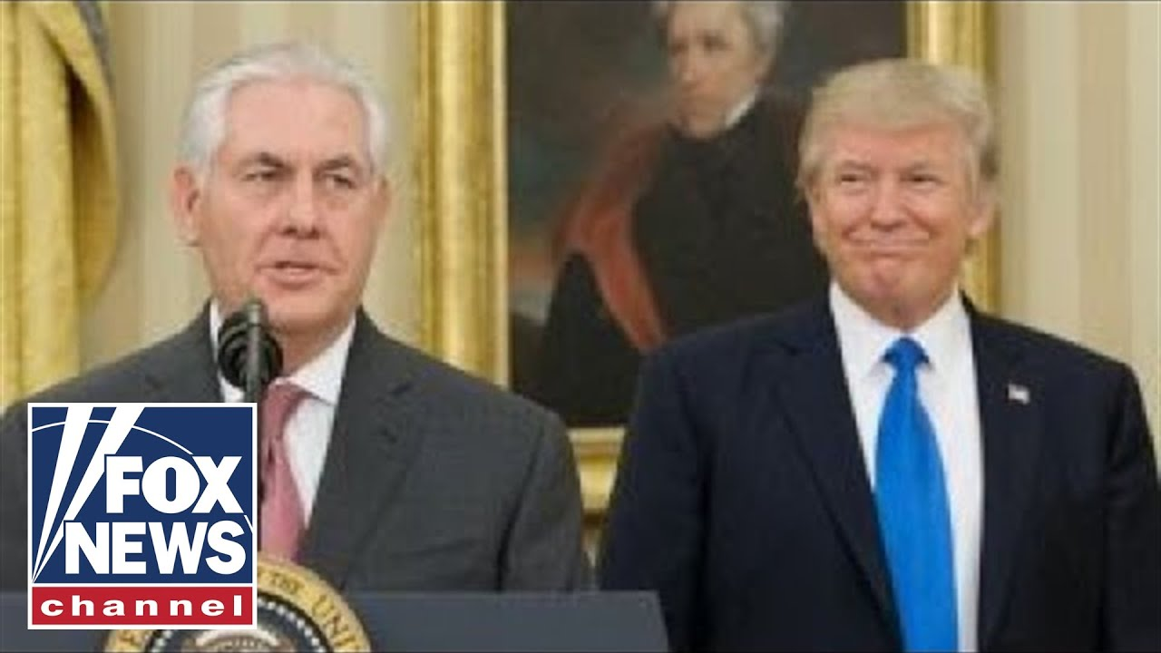 Donald Trump and Rex Tillerson: A tenure of tension #1