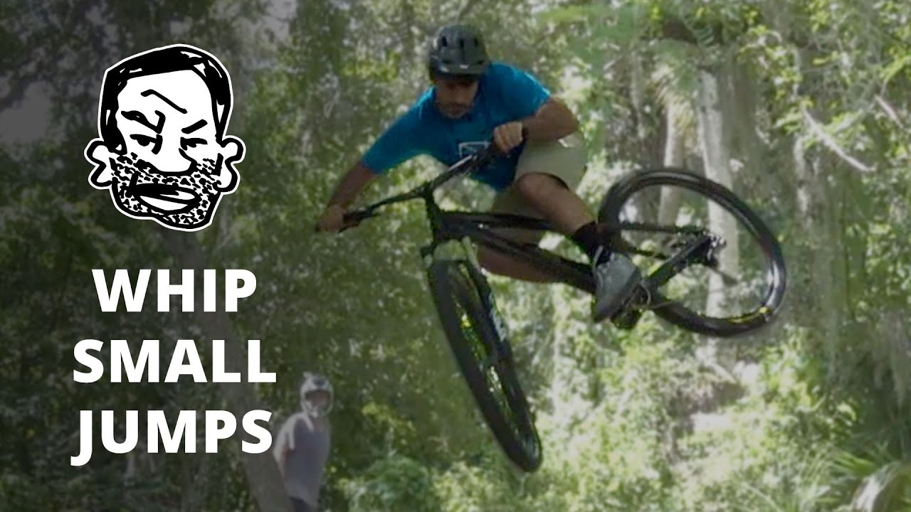 How To Whip Small Jumps On A Mtb Youtube