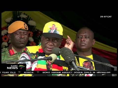 Mugabe unable to walk