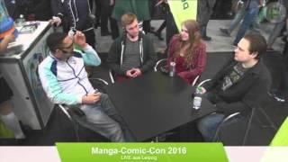 peppermint anime @ Manga Comic Con 2016 - Interview mit Free! Team