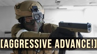 Aggressive Advance! | Swat Airsoft!