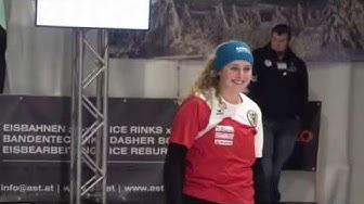 Eisstock WM 2020, Weitenwettbewerb Damen Finale