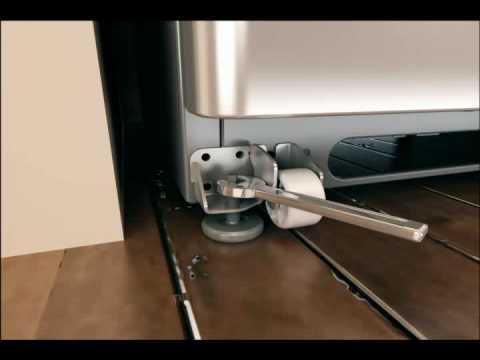 Realign Uneven Refrigerator Doors Non Ajustable Rollers