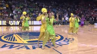 Bhangra Empire @ NBA Halftime Show (Warriors vs. Knicks) 2013