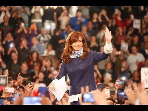 Cristina en La Plata #GanóLaMayoría