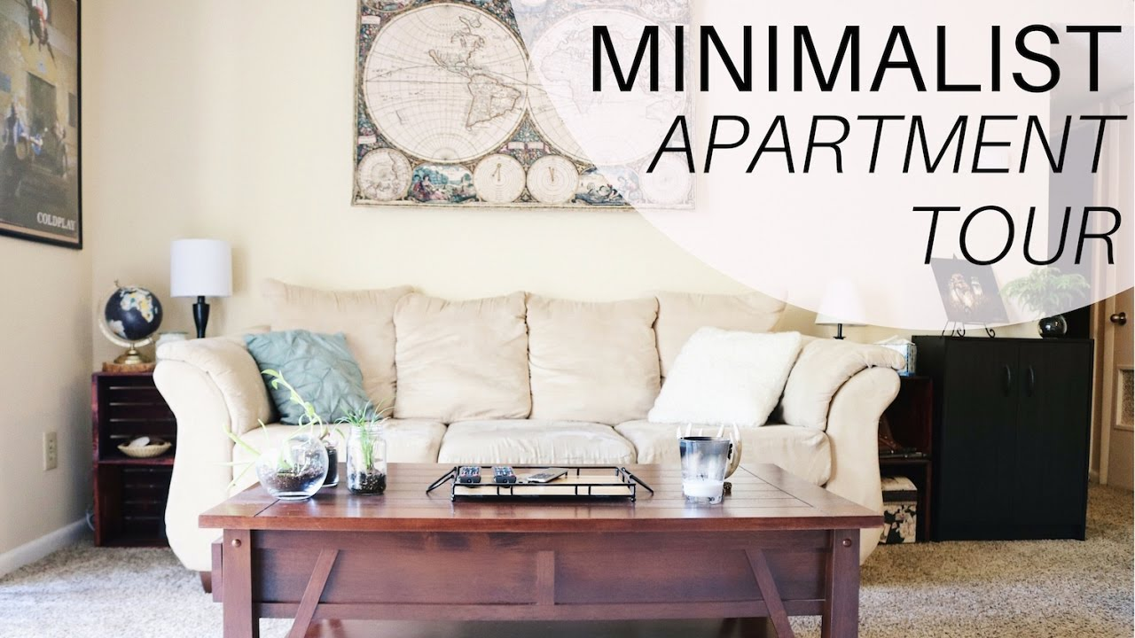 MINIMALIST APARTMENT TOUR | One Bedroom Apartment