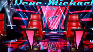 Dene Michael Never give up on a good thing performing on The Voice Uk 2015 Full Song