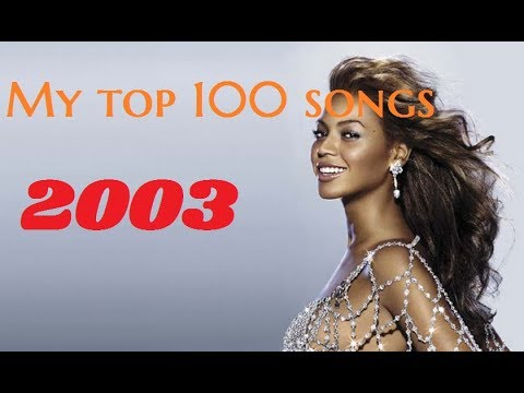 My top 100 songs of 2003