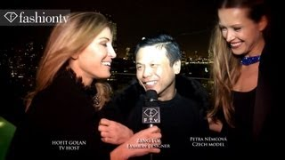 Zang Toi Fashion Week Party ft Petra Nemcova + Hofit Golan | NYFW Fall 2012 | FashionTV