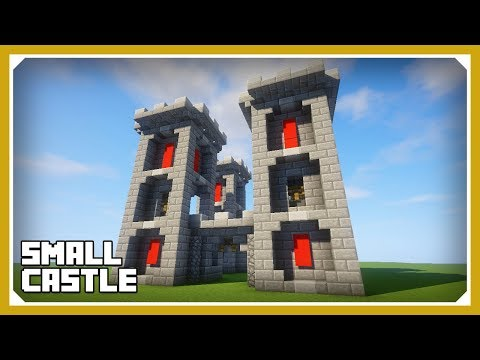 Minecraft: How To Build A Small Castle Tutorial (Easy Survival Minecraft Castle)
