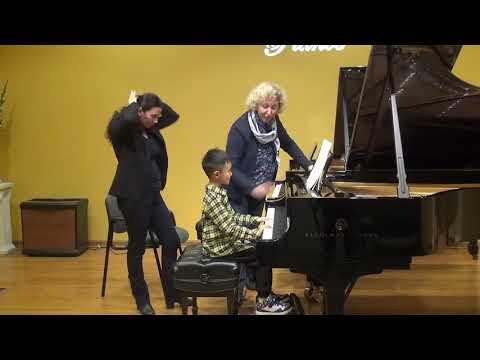 23.02.2018 Mira Marchenko's master-classes. Kevin Hou. Schmitt Music, Kansas City, USA.