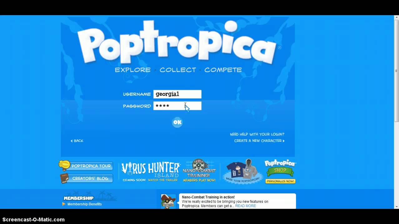 How to hack poptropica accounts - YouTube