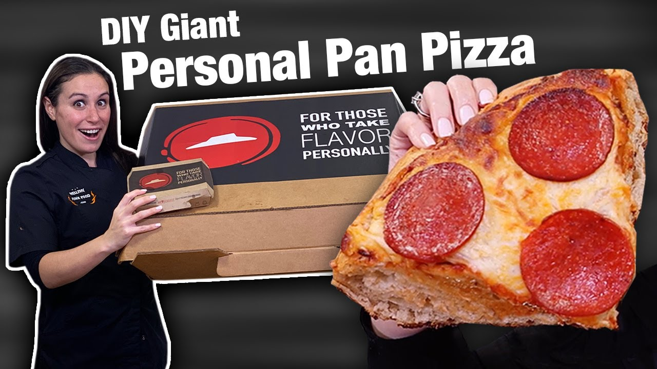 We made the World's LARGEST Personal Pan Pizza ? Pizza