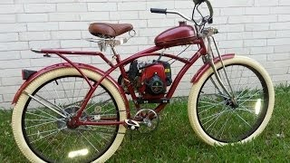 Custom Built Motorized 4 Stroke Bicycle
