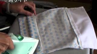 Repeat youtube video ツートン 袋の作り方