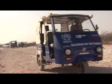 Tuk-Tuks bring hope to Somalis in Galkayo