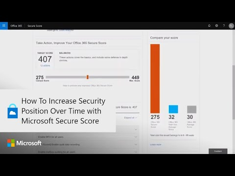How To Increase Security Position Over Time with Microsoft Secure Score