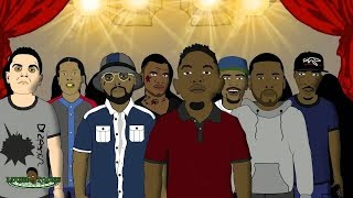 Drake vs Kendrick Lamar - Rap Battle (LT Animated Cartoon)