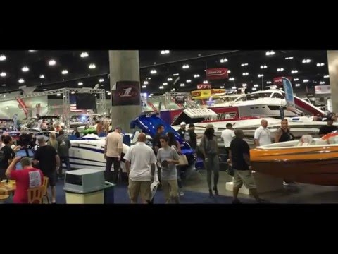 2016 Progressive Los Angeles Boat Show, Caliber 1 Custom Boats