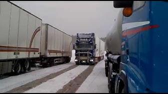 Järvinen Transports Scania R560 Rakt Rör V8 Part 2