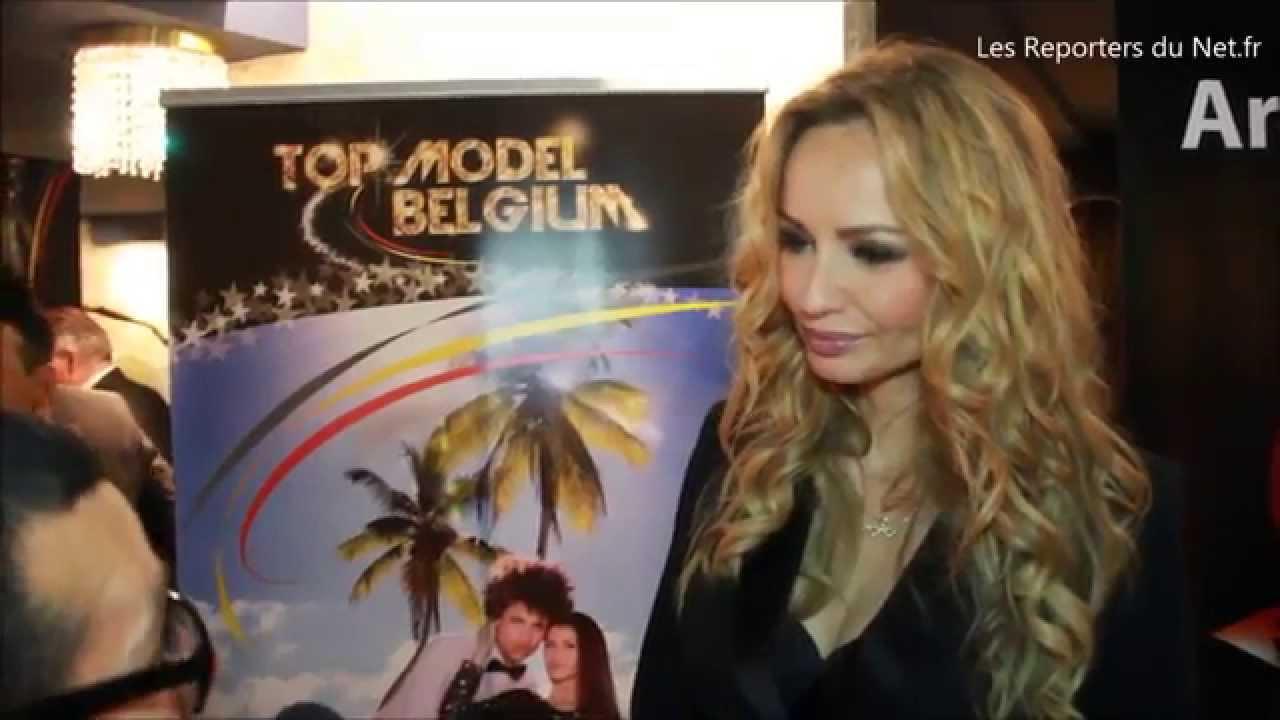 Adriana Karembeu - Présentatrice de Top Model Belgium