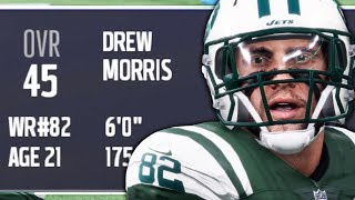 THE JETS SIGN THE WORST WR OF ALL TIME! Madden 18 Brutally Honest WR Career Ep. 1