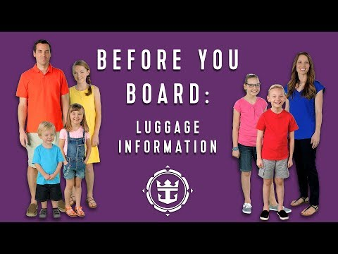 Before You Board: Luggage Information