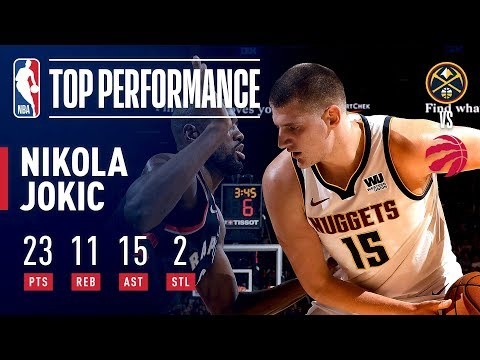 Nikola Jokic Drops a Triple Double With 15 Assists! | December 3, 2018