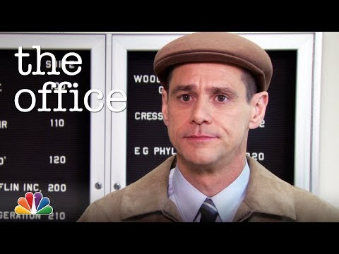 Jim Carrey Interviews For Regional Manager - The Office