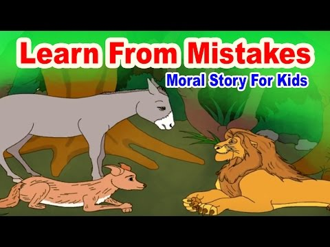 Learn From Mistakes - English Stories For Kids | Moral Bedtime Stories For Kids In English