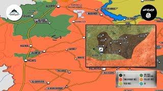 22 ноября 2017. Военная обстановка в Сирии. Боевики ИГИЛ захватили 8 деревень у боевиков Аль-Каиды.
