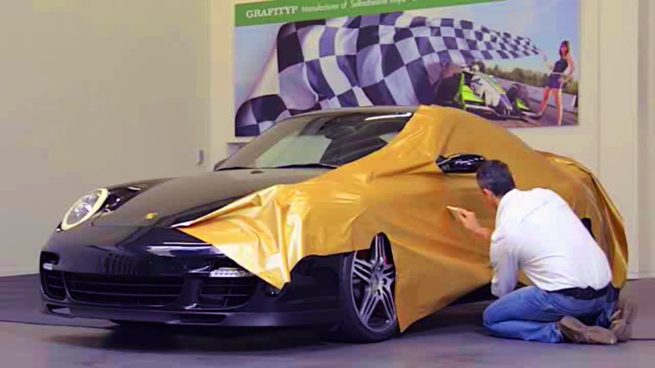 Wrapping Porsche Car Wrapping In Autowrap Youtube