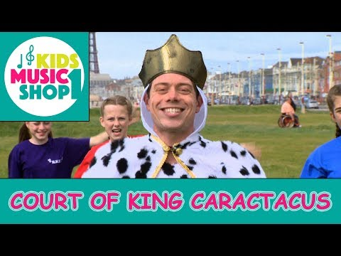 The Court of King Caractacus.