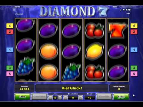 Diamond 7 online spielen - Novomatic Slot