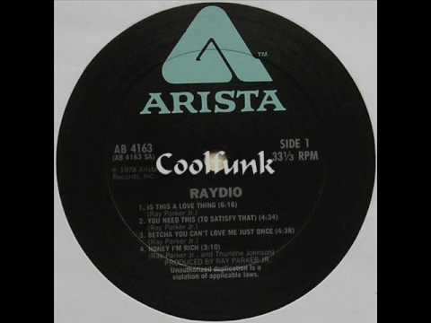 Raydio - Is This A Love Thing (Funk 1978)