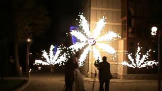Свадебные салюты и фейрверки в Ставрополе
