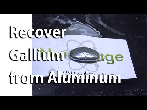 Recover Used Gallium From Aluminum