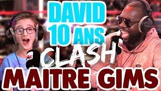 DAVID 10 ANS CLASH MAÎTRE GIMS DANS GUILLAUME RADIO !