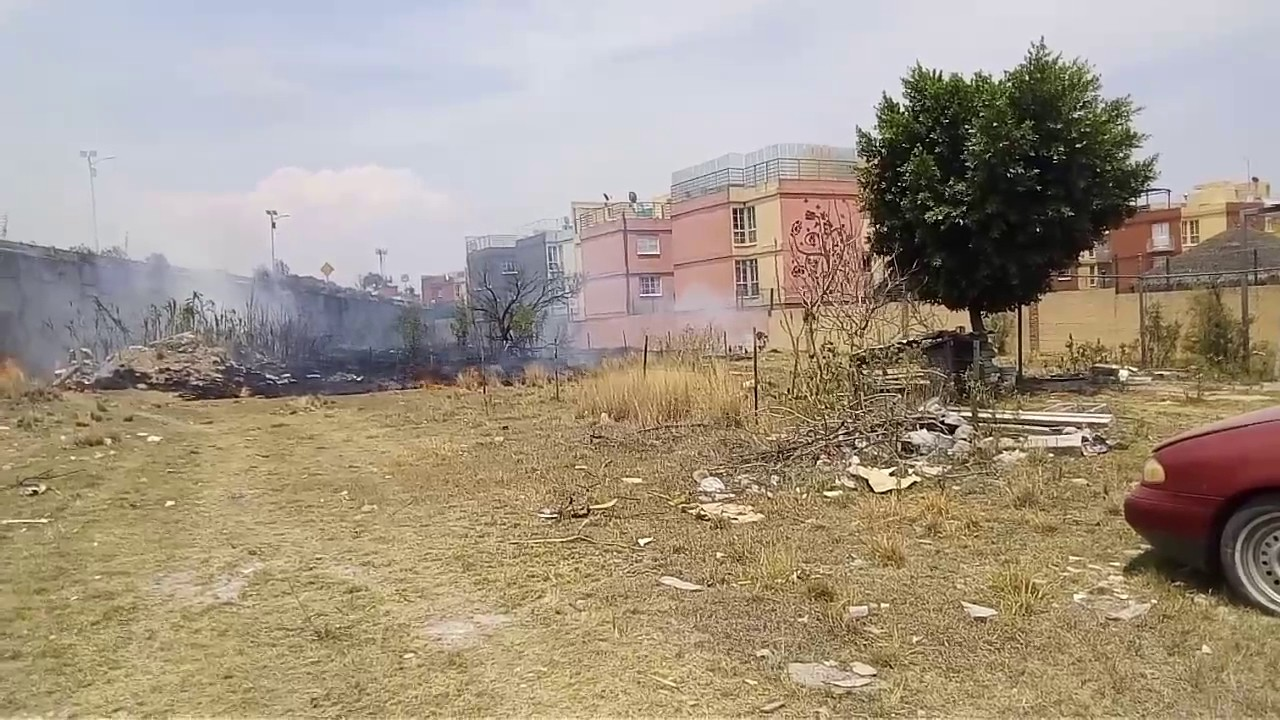 Incendio En Terrazas De Angelopolis 7 Youtube