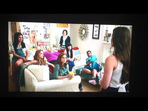 Emily Junk singing Flashlight to the Bellas