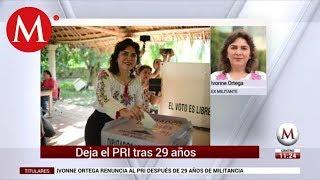 Ivonne Ortega habla sobre su renuncia al PRI