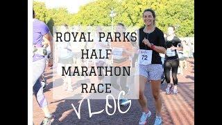 Royal Parks Half Marathon Race Vlog