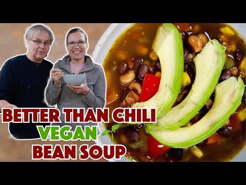 �� Vegan 'Better Than Chili' Chipotle Black Bean Soup Recipe