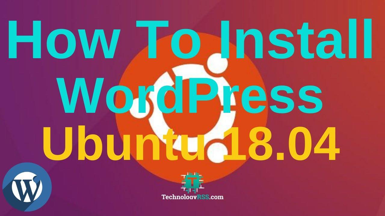 install wordpress ubuntu 18.10