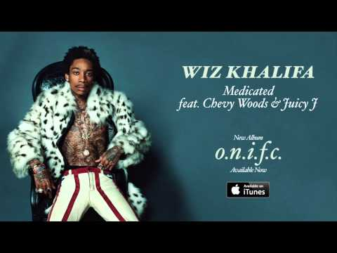 Wiz Khalifa -  Medicated feat  Chevy Woods & Juicy J (lyrics)