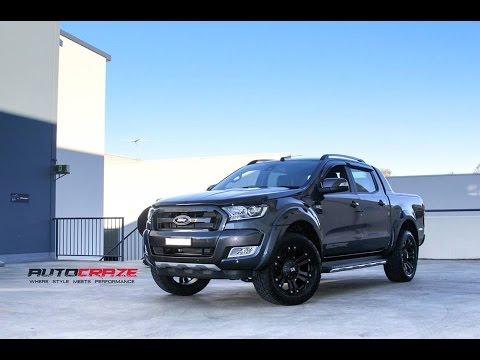 Ford Ranger Wildtrak Wheels - KMC Monster XD Rims | AutoCraze