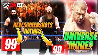 WWE 2K19 BLUDGEON BROTHERS NEW SCREENSHOT, RATING REVEAL & GAMEPLAY - WHERE IS UNIVERSE MODE?