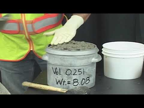 ASTM C138   Standard Test Method for Density (Unit Weight), Yield, and Air Content of Concrete