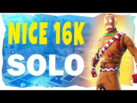 Aggressive 16k Solo Win w/ Some Nice Snipes - Rich Homie Stan Fortnite